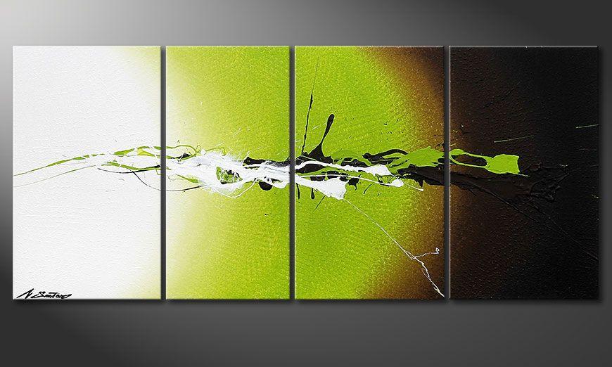 Déco avec la toile  Juicy Splash 115x50x2cm