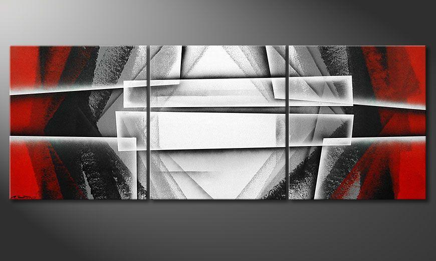 Deep Silence 180x70x2cm Tableau moderne