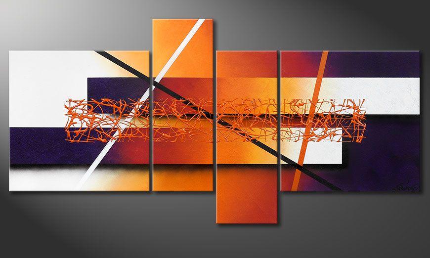 La peinture Afterglowing Memories 130x65x2cm