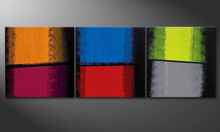 La peinture Departed Colors 210x70x2cm