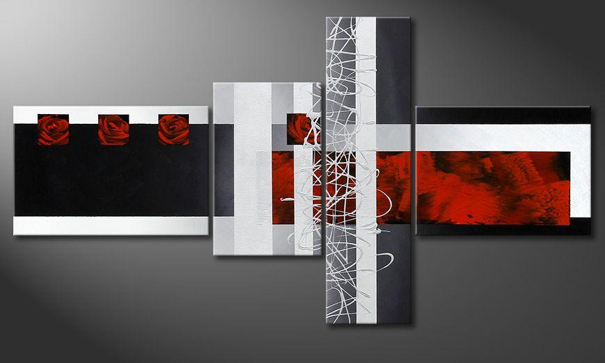 La peinture insolite Fameless Emotions 130x70x2cm