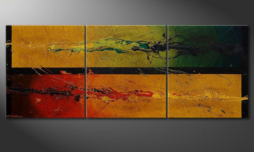 La toile chic Blowing Elements 180x70x2cm