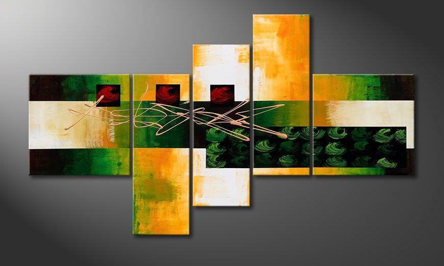 La toile déco Quiet Love 130x75x2cm