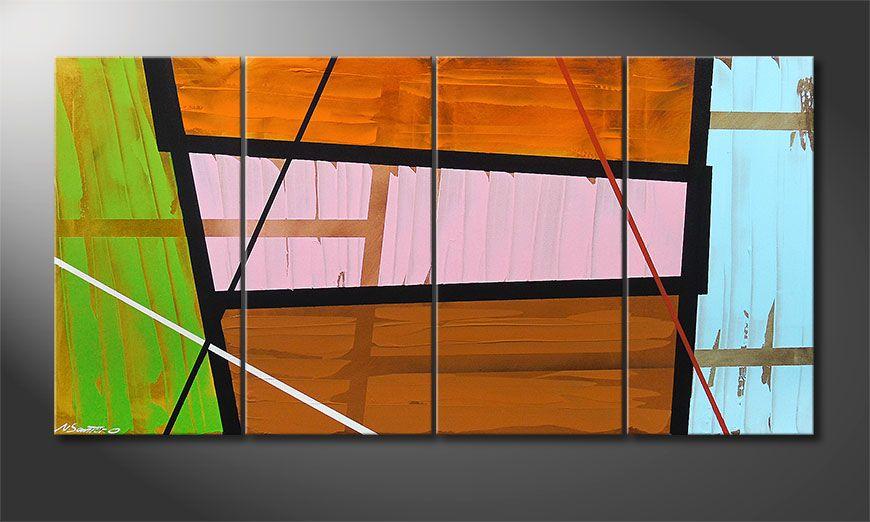 La toile design Elementary 160x80x2cm