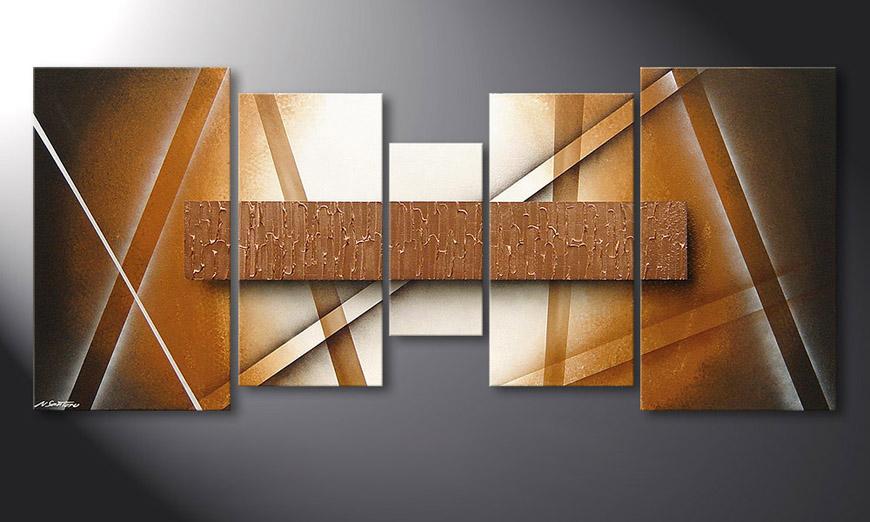 La toile moderne Copper Spectacle 160x70x2cm