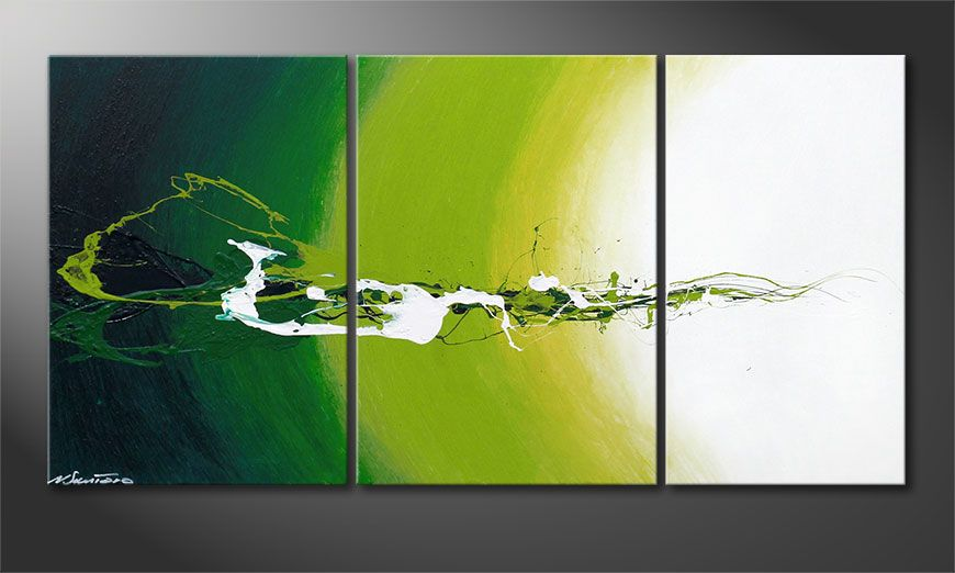 La toile moderne Power of Nature 140x70x2cm