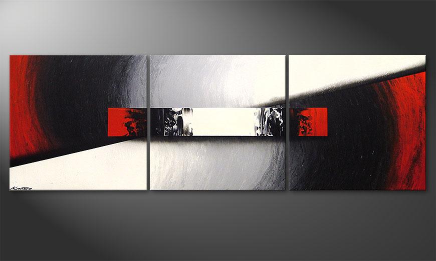 Le tableau de salon Awakening of Spirit 210x70x2cm