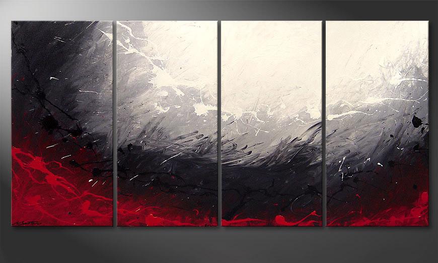 Le tableau mural Aboil Iron 160x80x2cm