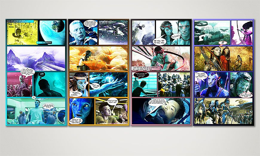 Le tableau mural Avatar 160x70x2cm