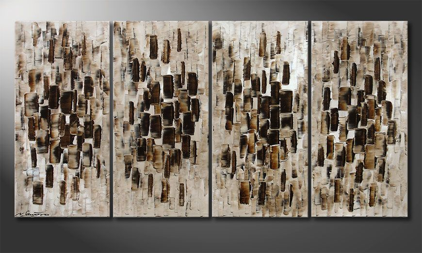 Le tableau mural Broken Lights 160x80x2cm