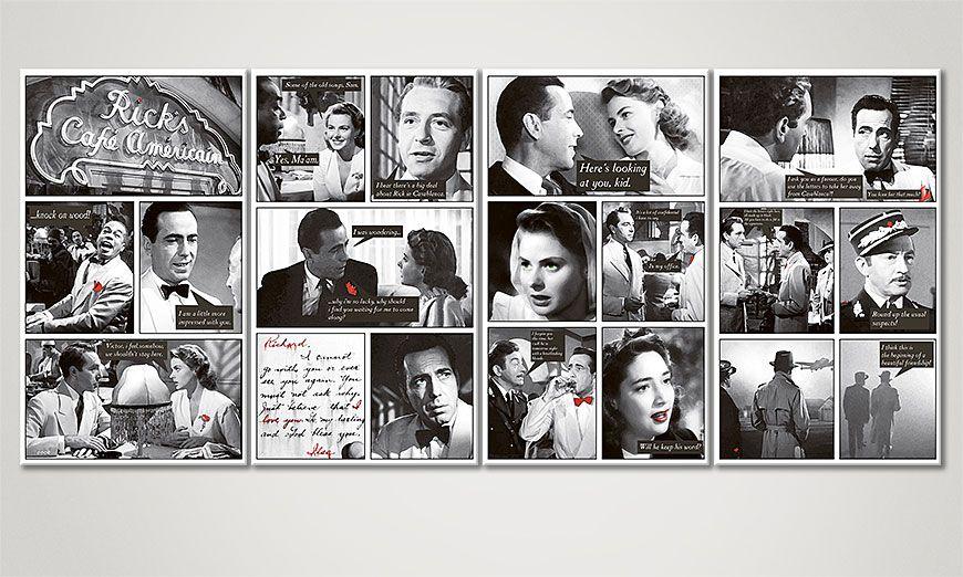 Le tableau mural Casablanca 160x70x2cm