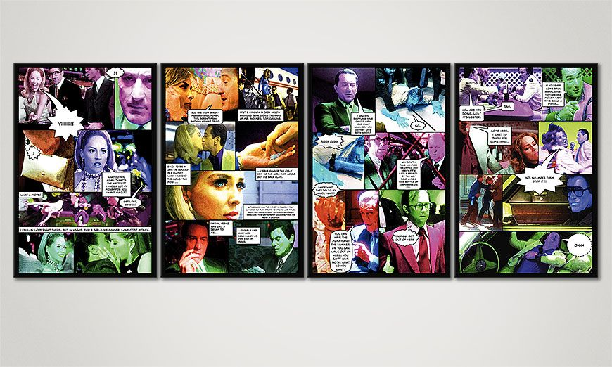 Le tableau mural Casino 160x60x2cm