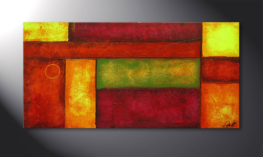 Le tableau mural Come Together 120x60x2cm