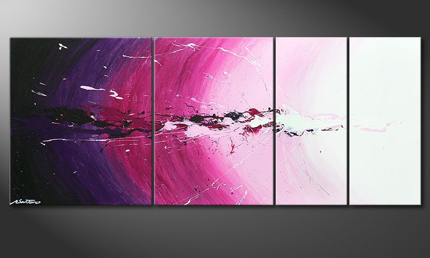 Le tableau mural Cosmic Splash 170x70x2cm