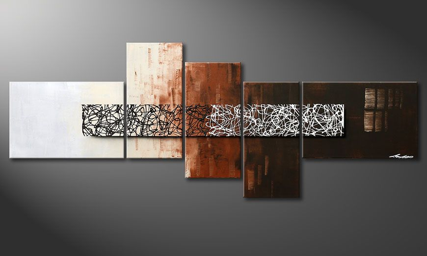 Le tableau mural Day at Night 210x80x2cm