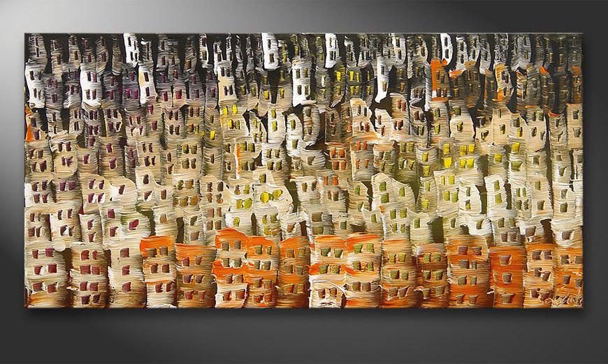 Le tableau mural Desert City 120x60x2cm