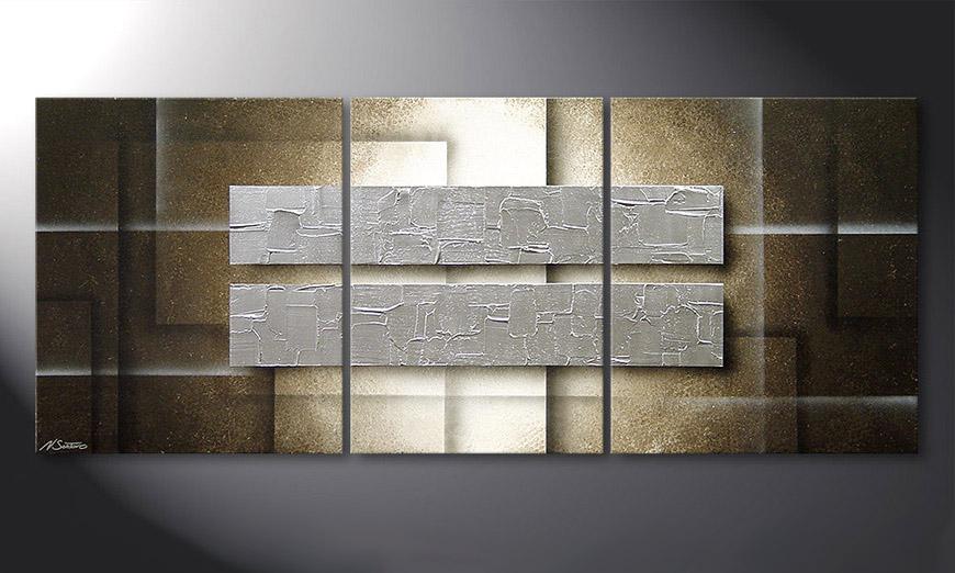 Le tableau mural Frozen Blocs 170x70x2cm
