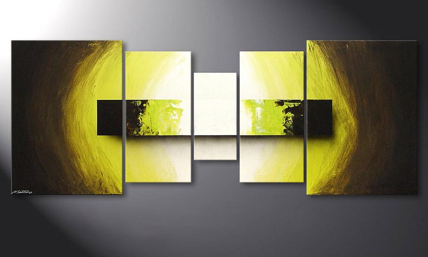 Le tableau mural Green Vision 180x70x2cm