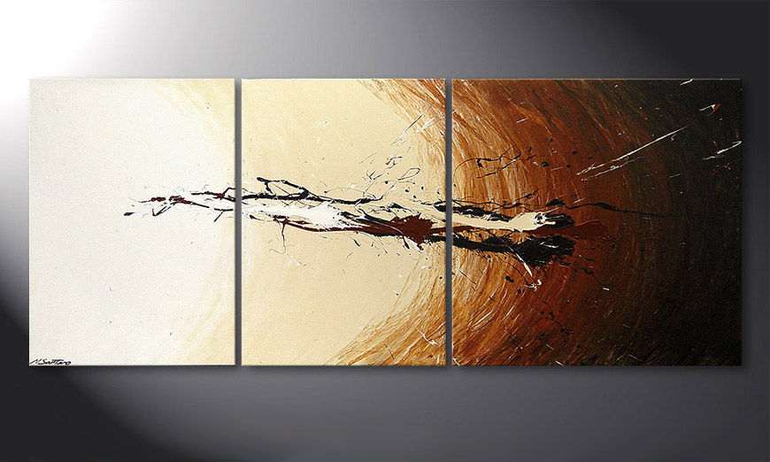 Le tableau mural Power of Earth 170x70x2cm