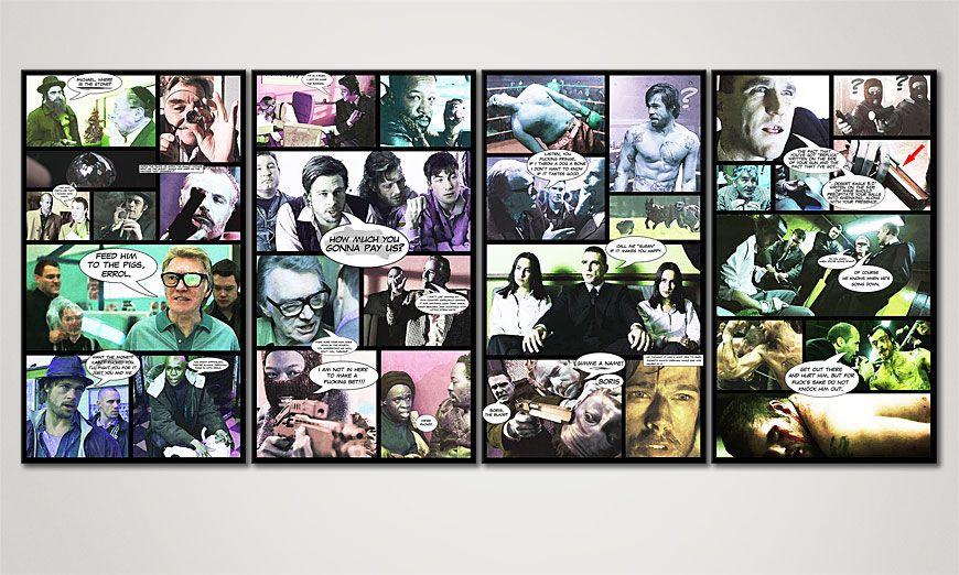 Le tableau mural Snatch 160x70x2cm