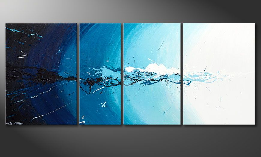 Le tableau mural Water Splash 170x70x2cm