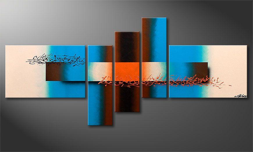 Le tableau petite taille Summer Spirit 150x60x2cm