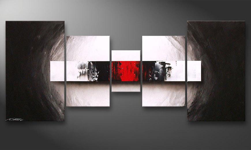 Le tableau pour salon End of Contrast 160x70x2cm