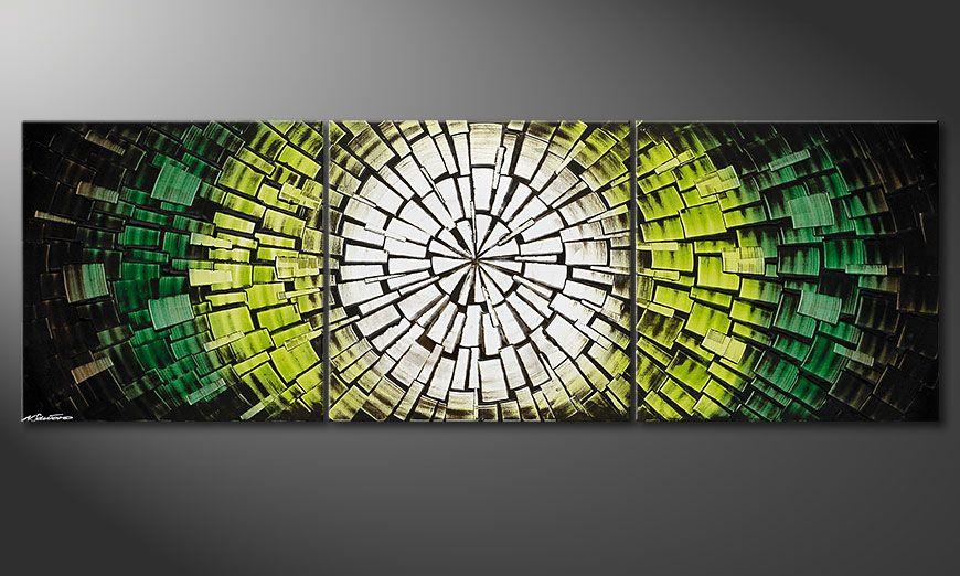 Tableau sur châssis Light of Hope 210x70x2cm