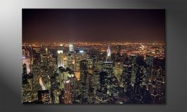 L'impression sur toile<br>'Big Apple'