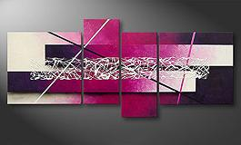 La toile moderne<br>'Connection' 180x80cm