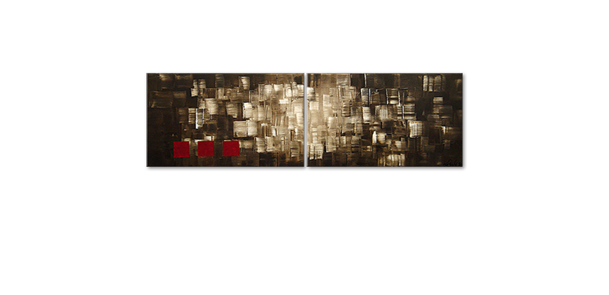Le tableau mural Play of Light 200x60cm