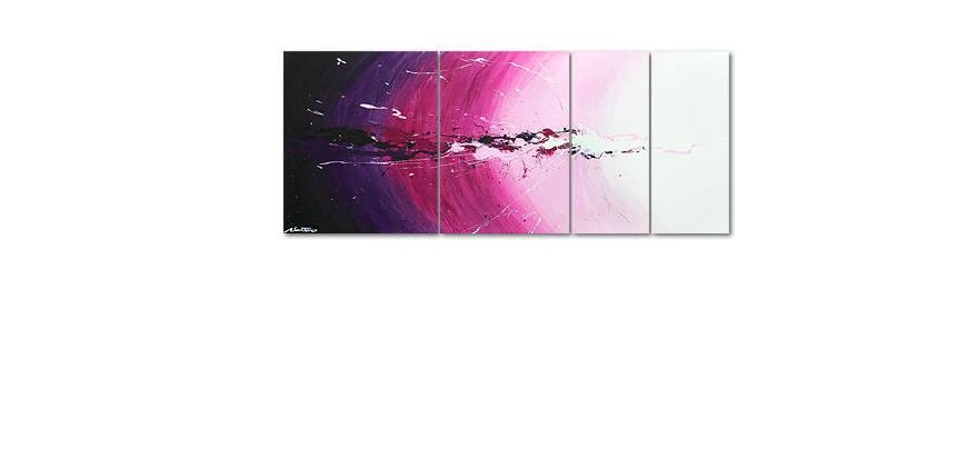 Le tableau mural Cosmic Splash 170x70cm