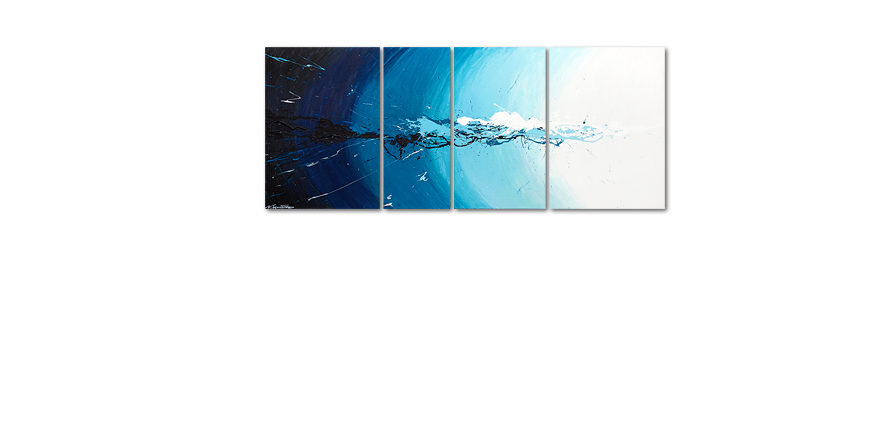 Le tableau mural Water Splash 170x70cm