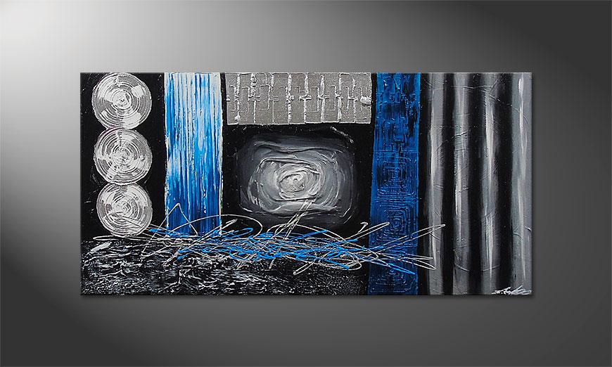 Le tableau mural Frozen Signs 120x60x2cm