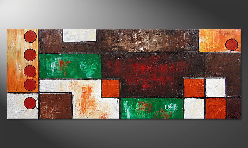 Le tableau mural Stand Out 150x60x2cm