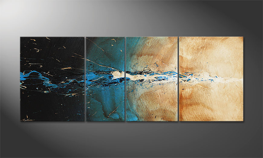 Le tableau mural The Source 170x70x2cm