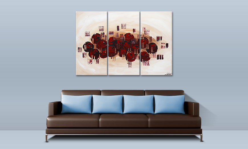 Dream of Roses 120x80cm Tableau