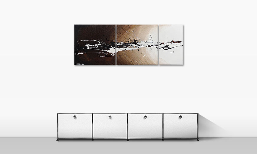 Le tableau mural Light Eruption 130x50cm