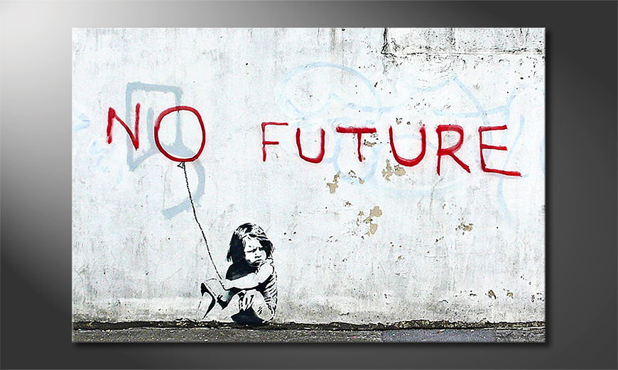 La toile imprimée Banksy No10