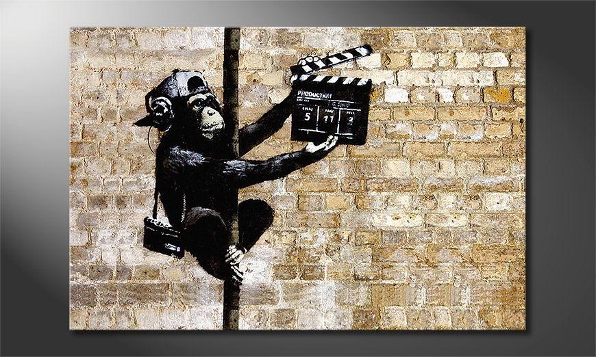 La toile imprimée Banksy No13