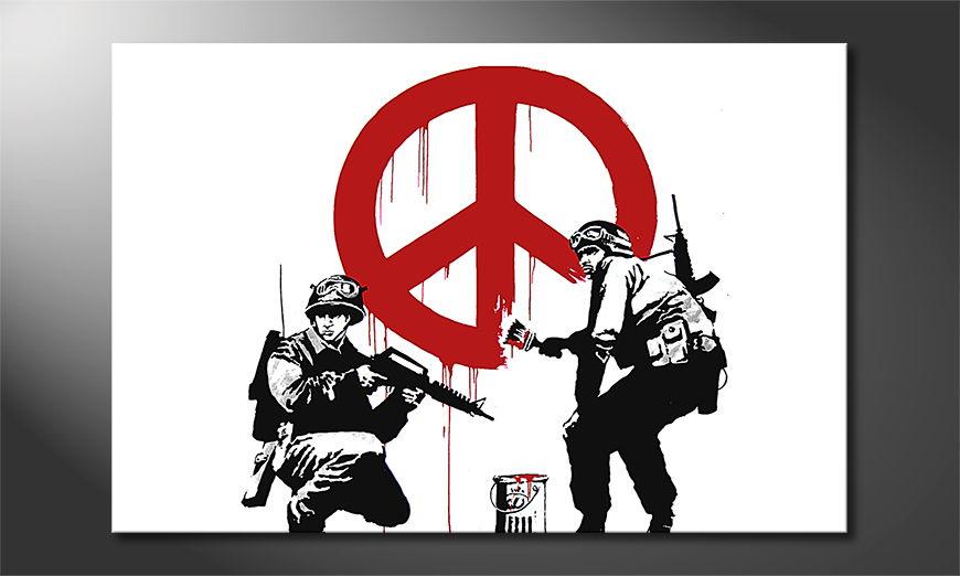 La toile imprimée Banksy No15