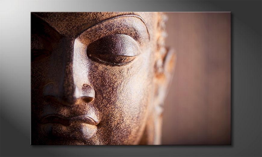 Le tableau bouddha Silence