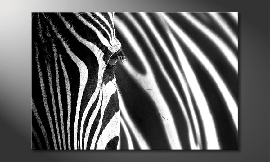 Le-tableau-imprimé-Animal-�Stripes