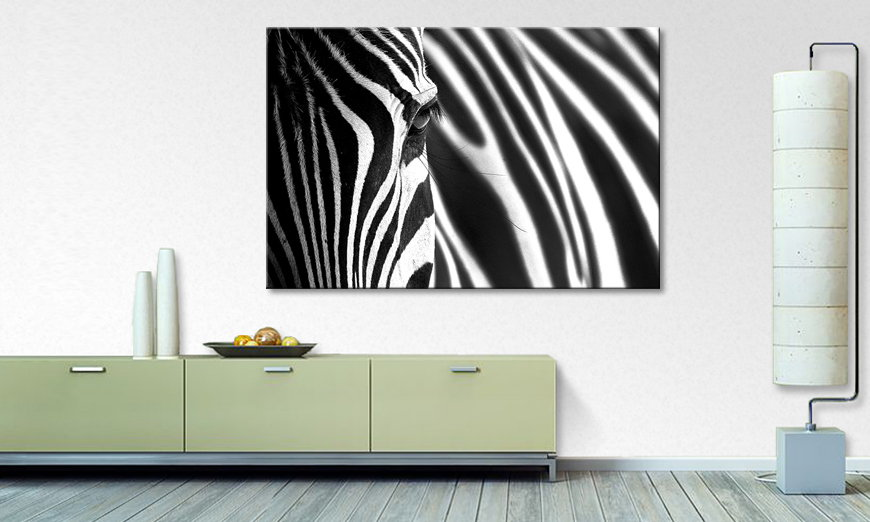Le tableau imprimé Animal �Stripes