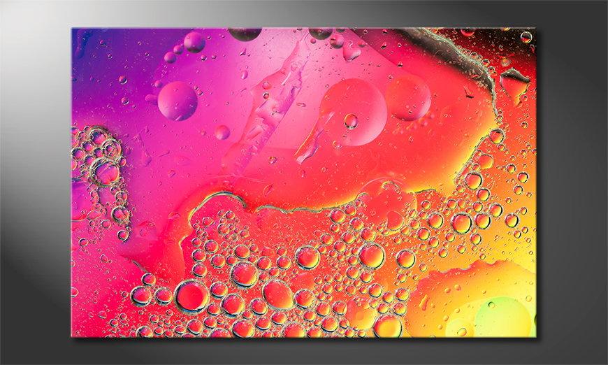 Le tableau imprimé Colorful Water I