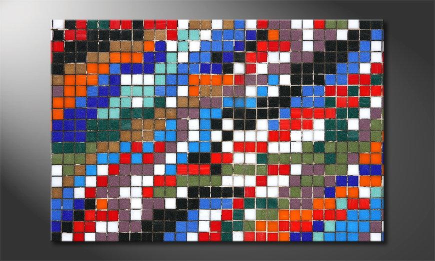 Le tableau imprimé Mosaic