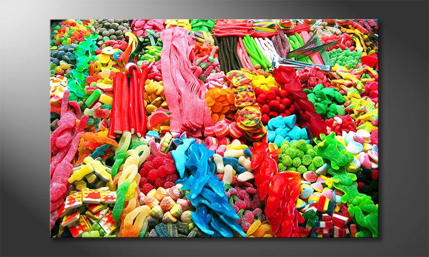 Le tableau imprimé Sweets
