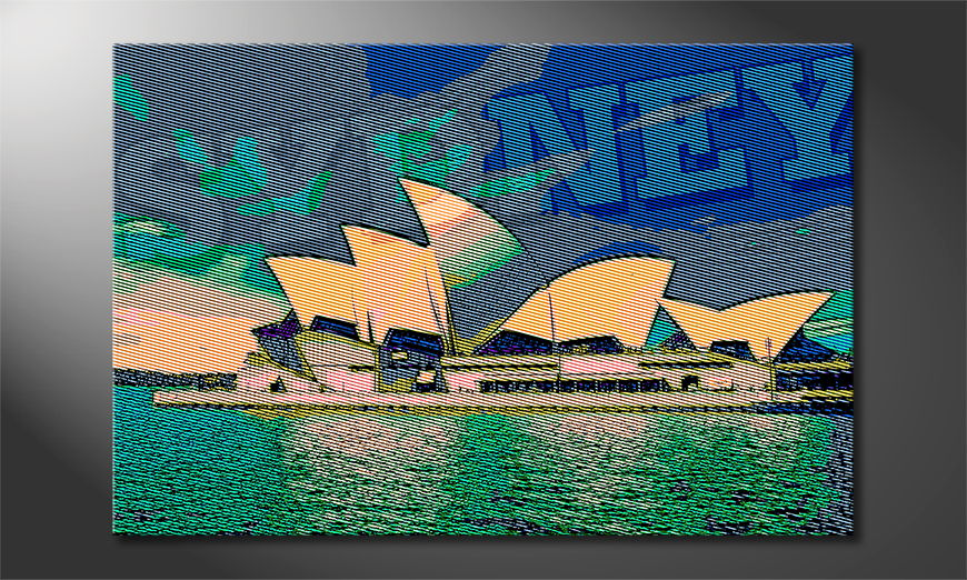 Le tableau imprimé Sydney