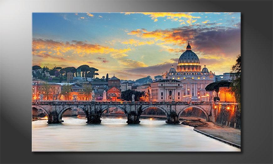 Le tableau imprimé Vatican
