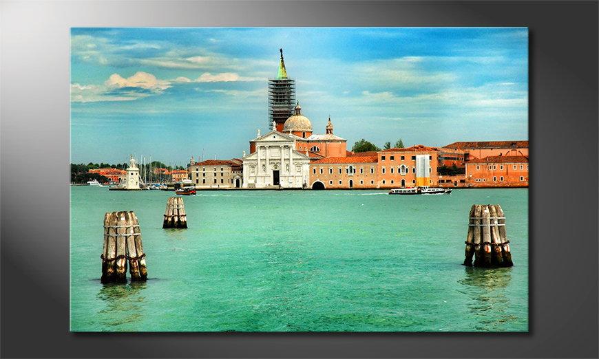 Le tableau imprimé Venice